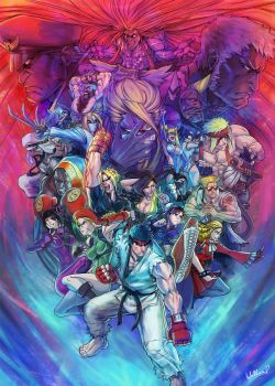 SFV Final Cast by SatsuiNoHado