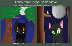   HollyPaw    Draw this Again Meme by Angelbreeze1
