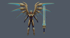 Aether Wing Kayle - my version by Raiyca