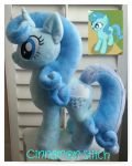 My little pony Plush Commission OCEAN by CINNAMON-STITCH