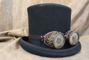Steampunk Goggles by Ronzilla0