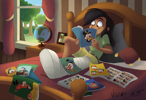 Daring Do Collab by Ric-M