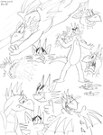 Fyfe + Sparkplug Sketch Dump - 28/06/2015 by BluebottleFlyer