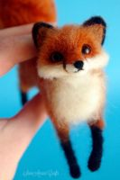 Red fox VI by SaniAmaniCrafts
