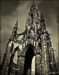 Sir Walter Scott Monument by Estruda