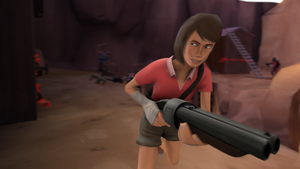 Not Always Girly | TF2 Wallpaper by iSlimed