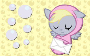 New Born Derpy Hooves WP by AliceHumanSacrifice0