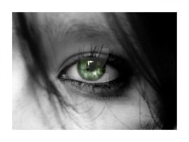 The green eye by Photosnap