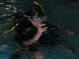 Me Failing At Snorkelling by Shallow-Heart-Break