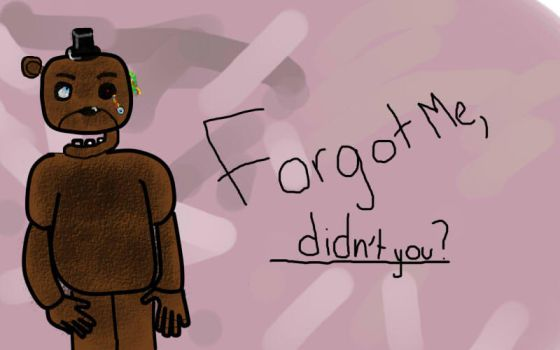Forgot me, didn't you? by SuiVinox