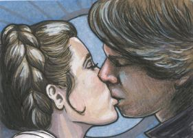 Han Leia Kiss PSC by AshleighPopplewell