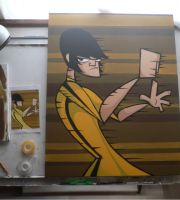 bruce lee painting update by kungfumonkey