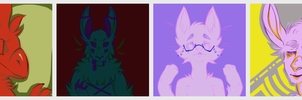 Color Palette Derps by Flamelish
