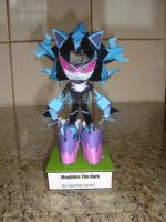 Mephiles The Dark papercraft by augustelos
