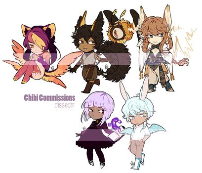 Chibi commissions [5/29] by Dlssectr