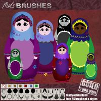 Build-your-own Matryoshka doll by melemel