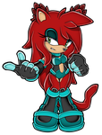 Keira The Bearcat by SophieTheHedgeh0g