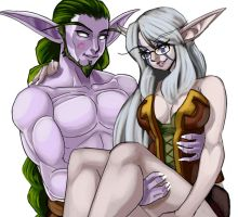 WoW Geminico and Deduin by elazuls-core