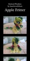 Knitted Plushies - Apple Fritter by haselwoelfchen