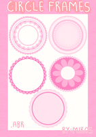 Circles Frames Brushes by craftingandmore