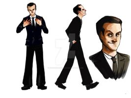 Jim Moriarty by FaustindeRavignan