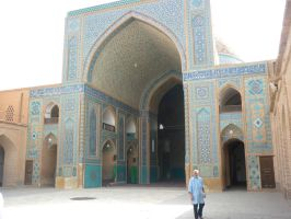 Jame Mosque of Yazd 2 by zohreh1991