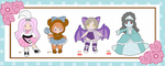 Adoptables Batch 1 - 2 out of 4 Sold by Sakurarmarie
