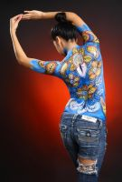 Airbrush Body Painting 19 by olivertam