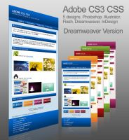Adobe CS3 DW Journal Skin by Thewinator