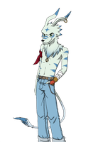 looking for a style of anthro (Chizu :3) by xcat13