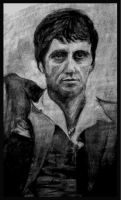 Scarface Portrait by dustMights