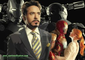 IRON MAN The Series by penisantoso