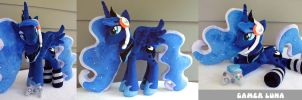 18 Inch poseable Gamer Luna Plushie by PlushActionToys