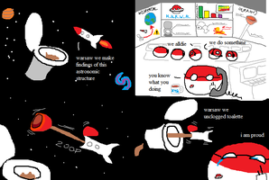polandball space plumbing by ballsofsteal
