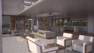Eco House - First Floor view by bm23