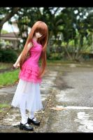 Mashiro in the park by leukemio
