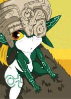 Midna-Enjoying the Ride by Arkanus89