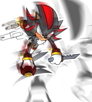 shadow the hedghog by hiro-the-world