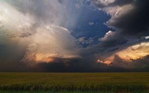 Light and Shadow on the Plains by MattGranzPhotography