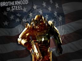 Brotherhood of Steel by Bregs