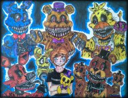 Five Nights At Freddy's 4 by ponyrlucy