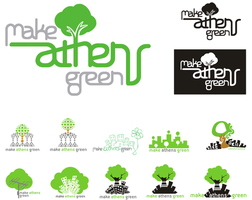 Make Athens Green logo by antonist
