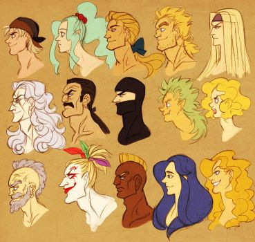 ff6 - profiles by spoonybards