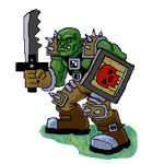 Orc Sprite by Spectrallynx