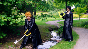 Roxas and Xion - Mission by Millahwood