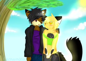 Muffin And James :AT: by BubbleChii