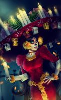 The Book of Life - La Muerte by Dea-Vesta