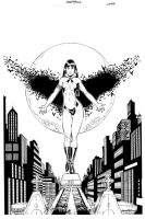 Pencil cover Vampirella 07 by wgpencil