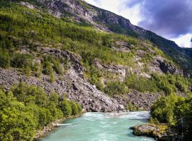 Beautiful river - Norway (13) by LorcanPL
