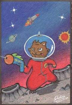 Space Kat by Lexaup